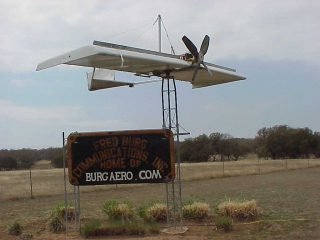 ENTRANCE SIGN ON FM 1623